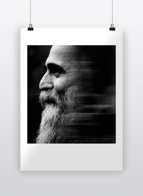 long beard man